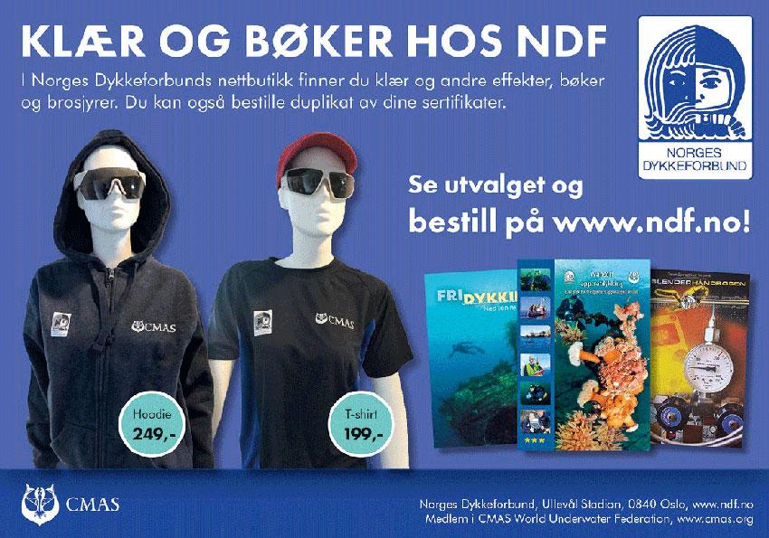 Annonsebanner NDF shop