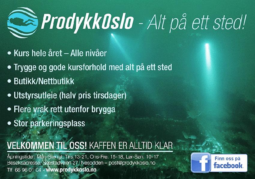 Annonsebanner ProDykk Oslo